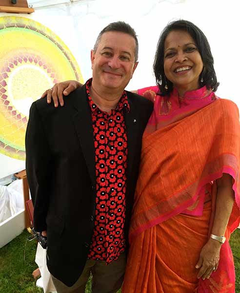 Emmanuel Itier und Nutan Gupta